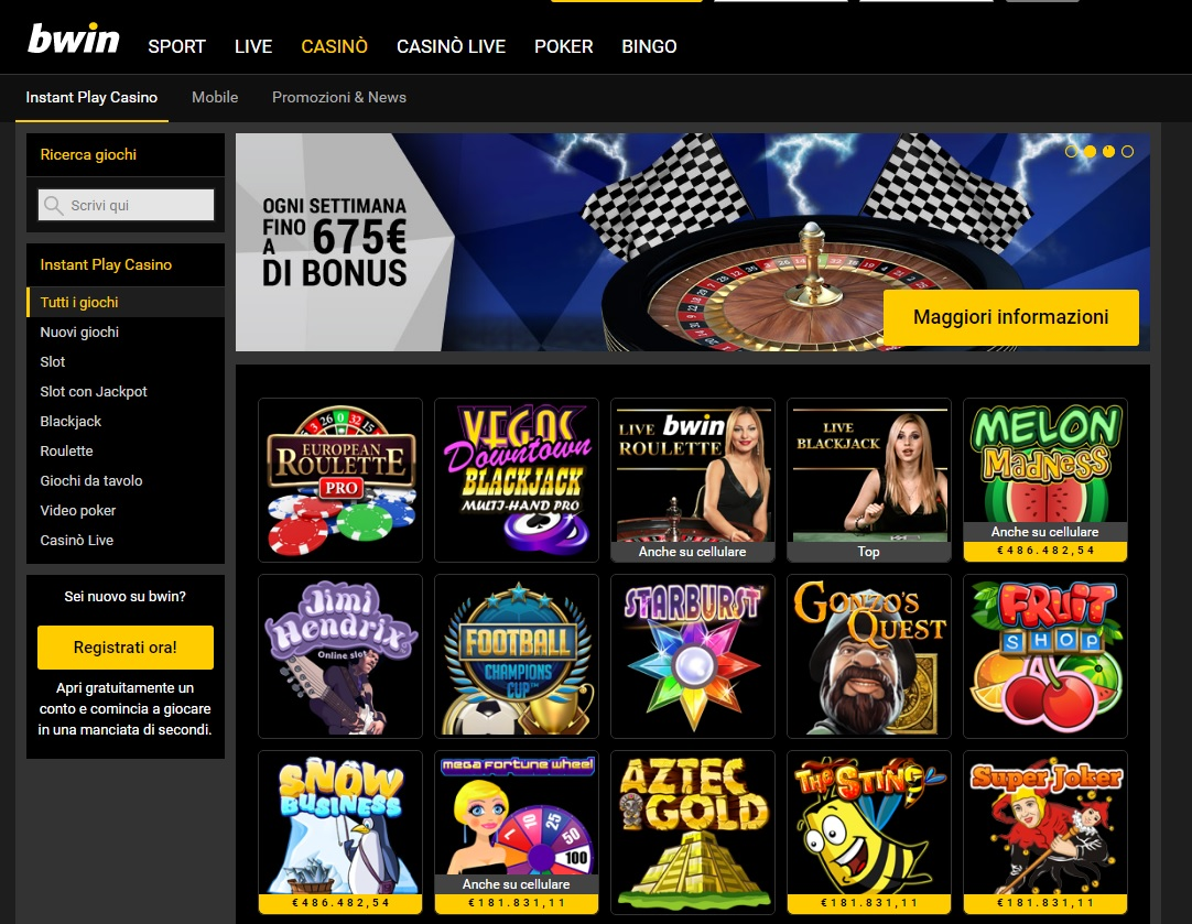 bwin casino download